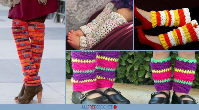 659a8599c5f 15 Cute Crochet Leg Warmers