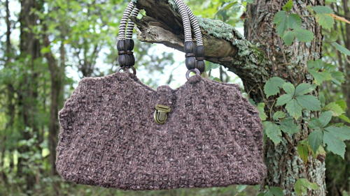 Oat Stitch Handbag