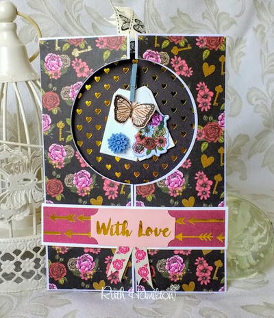 With Love Aperture Gatefold Card