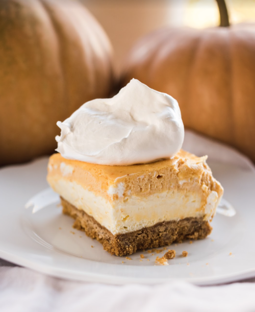 Easy Layered Pumpkin Delight