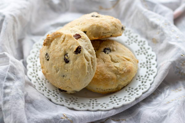 Sour Cream Raisin Biscuits