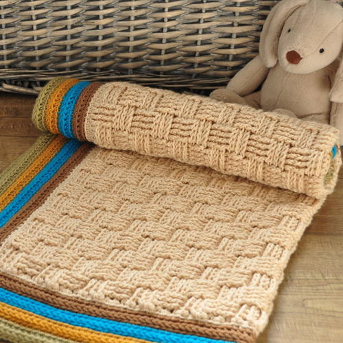 The Retro Baby Blanket
