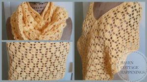 Butterscotch Buttons Scarf