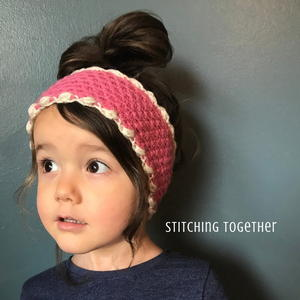 Crochet Puffs Ear Warmer Pattern