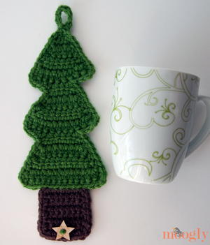 Christmas Tree Crochet Cozy