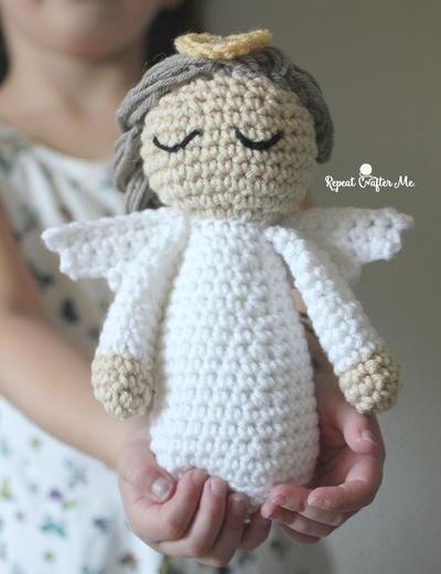 Vintage Sock Doll Pattern ~ Adorable ANGEL Doll