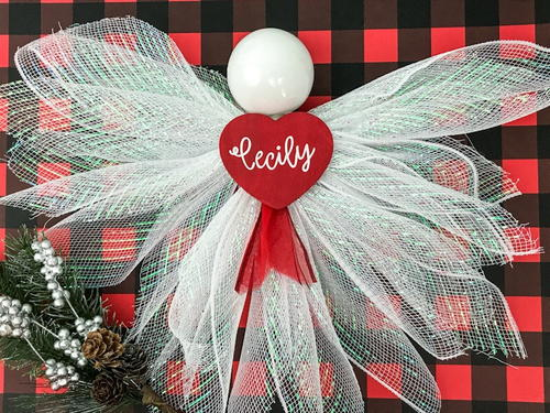 Deco Mesh Christmas Angel Tutorial