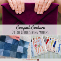 Compact Couture: 20 Free Clutch Sewing Patterns
