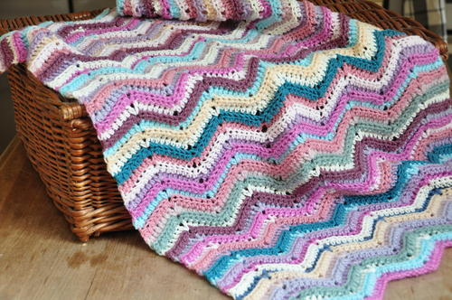 The Ripple Stitch Blanket