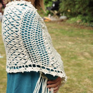 The Vintage Lace Shawl