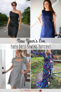 15+ New Year's Eve Party Dress Sewing Patterns