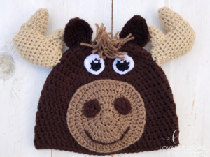 Marty the Moose Hat