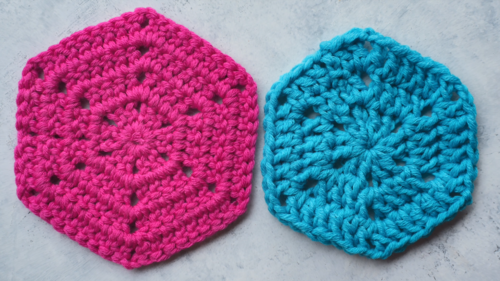 How to Crochet a Hexagon