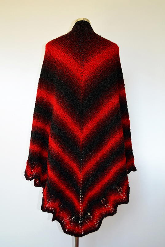 Blood Bat Shawl