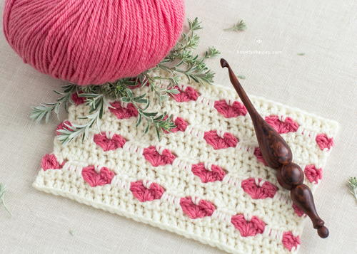 How To: Crochet The Heart Stitch