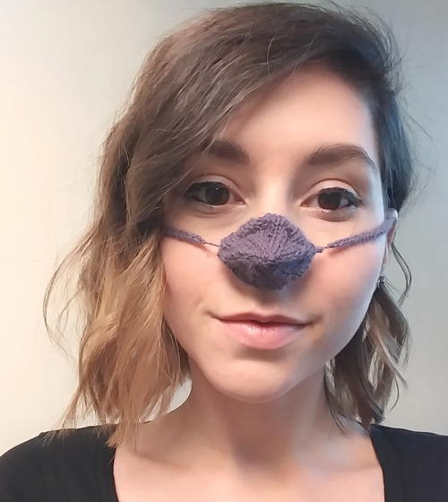 Knit Nose Warmer
