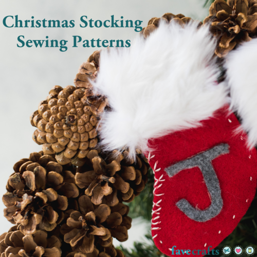 16 Christmas Stocking Sewing Patterns