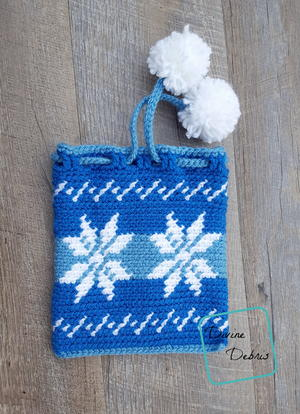 Dancing Snowflakes Gift Bag