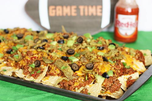 Crispy Jalapeño Loaded Nachos