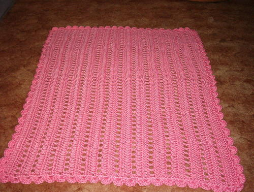 Wheelchair Lapghan Pattern