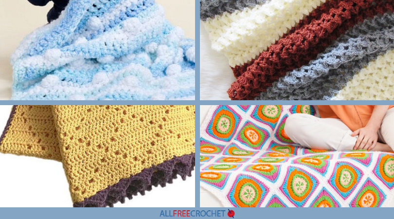 28 Fab Free Crochet Afghan Patterns With Pictures Allfreecrochetcom