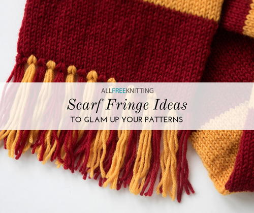 12 Scarf Fringe Ideas To Glam Up Your Patterns Allfreeknitting Com