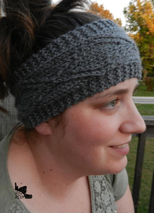 Diamond Dimensions Ear Warmer