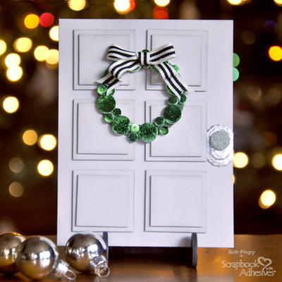 Christmas Door DIY Greeting Card