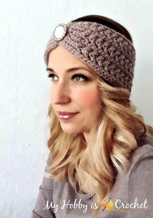 Chic Aran Headband / Earwarmer