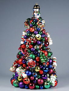 Baubles Christmas Tree