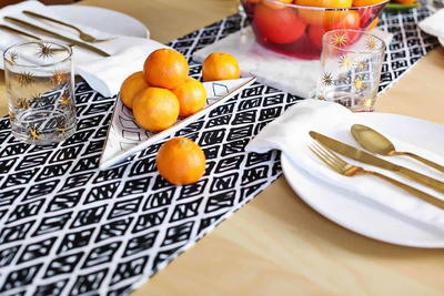 Modern DIY Table Runner Tutorial