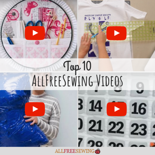 Top 10 AllFreeSewing Videos