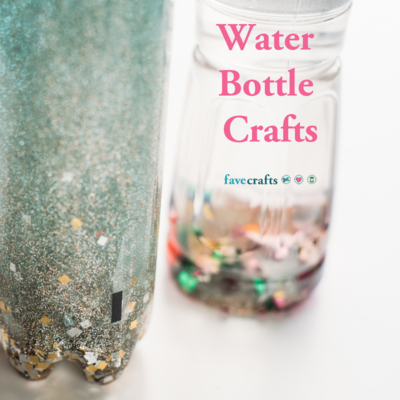 Easy to Make Water Bottle Crafts