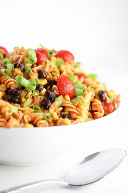 The Best Taco Pasta Salad