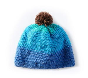 Glacier Sunrise Knit Hat Pattern