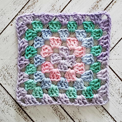 Home & Garden Afghans & Throw Blankets Original Vintage Crochet Square Blanket