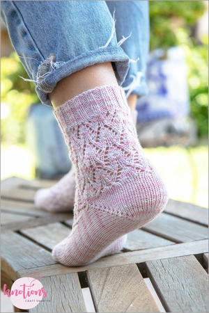 Else's Estonian Lace Socks