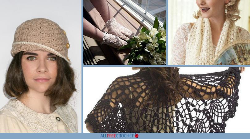 5ef80330620 1920s Fashion  20 Free Vintage Patterns to Crochet