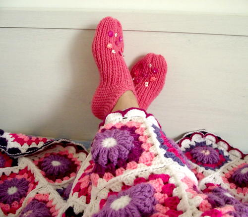 Lucilu Slippers Knitting Pattern