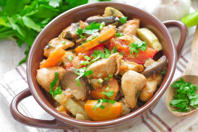 Simple Chicken Stew