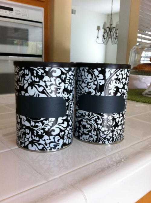Repurposed Coffee Can