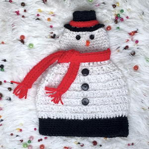 Light Me Up Snowman Hat