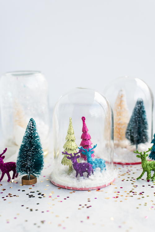 Insanely Gorgeous Waterless Snow Globe Craft