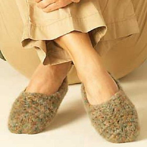 Fabulous Felted Crochet Slippers
