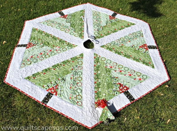 Christmas Tree Skirt Quilt Patterns Favequilts Com