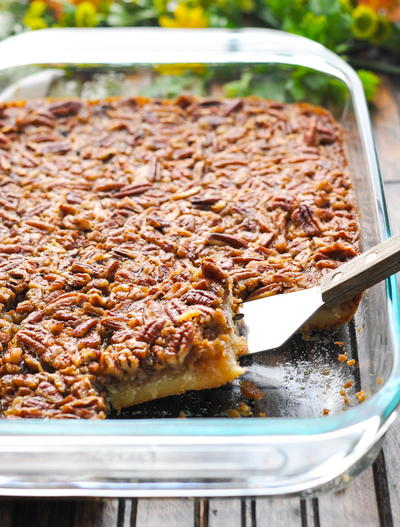 Irresistible Pecan Pie Bars