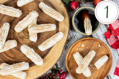Frosted Nutmeg Sticks