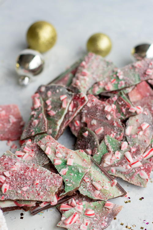 Santas Favorite Peppermint Bark