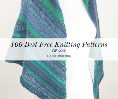 393d8dcbb3ad 100 Best Free Knitting Patterns of 2018