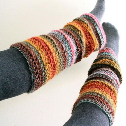 Scandinavian Crochet Leg Warmers